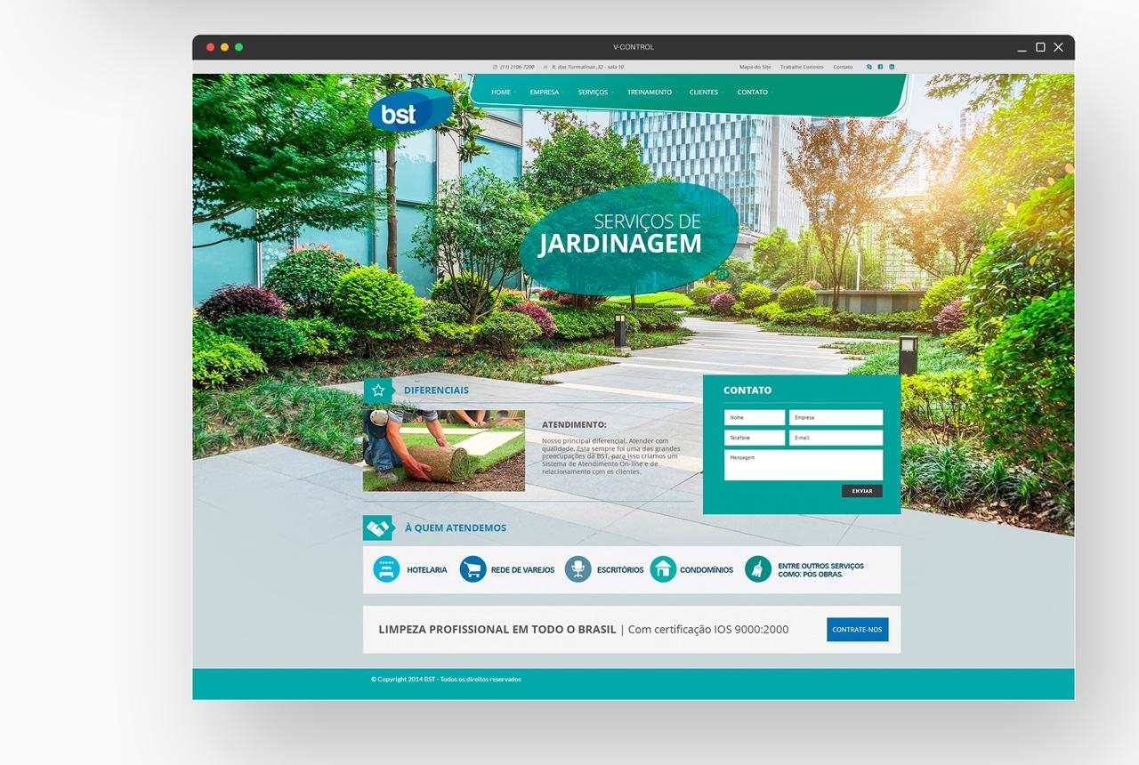 BST Landing Page – Jardinagem